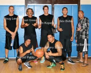 2014 Kauai Division Basketball Champions