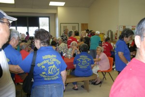 Hawaii Division Pensioners enjoying the Labor Day Celebration - August 24, 2013.