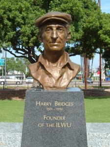 s215.photobucket.com Harry Bridges ILWU Memorial in San Pedro, CA